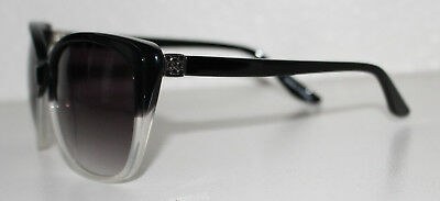 ANN TAYLOR TOWNHOUSE C01 BLACK New Cats Eye Sunglasses For Women