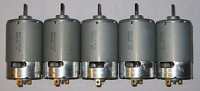 5 X Mabuchi 555 12v Dc Motor - Printer Portable Drill Robotics Hobby Motors