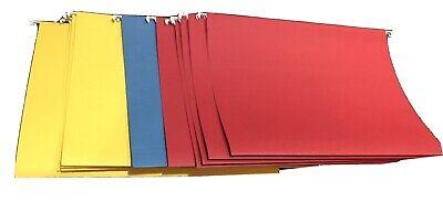 24 Office Depot Multi-color Legal Size Hanging File Folders