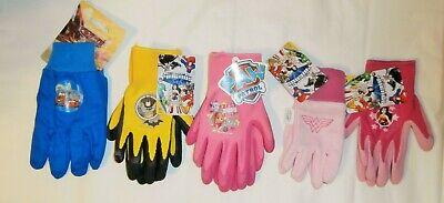 Kids Garden Gloves Kids Gardening Gloves Size 3+ You Pick ()