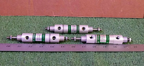 3 USED CHICAGO CYLINDER DR-6-.50 PNEUMATIC ***MAKE OFFER***