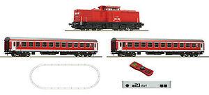 Roco H0 51285 Digital z21 Start Set Diesellokomotive BR 204 Personenzug DB AG