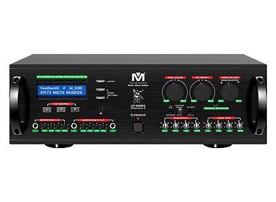 Better Music Builder DX-288 G3 900W KARAOKE CPU Mixing Amplifier Mixer (Best Karaoke Amplifier Mixer)