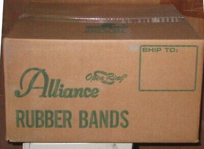 Alliance Blue Rubber Band (Alliance Rubber Band Sterling Size 8 Ponytail Light Blue 1 lb Made in USA )
