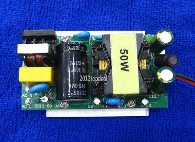 Led Power Supply Driver 50w For 50watt High Power Led Light Lamp Bulb 85-265v