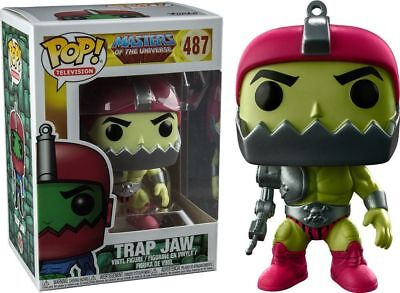 FUNKO POP! MASTERS OF THE UNIVERSE - TRAP JAW #487 / EXCLUSIVE