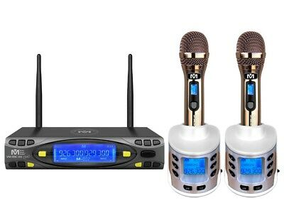 Better Music Builder VM-93C G5 UHF Rechargeable Wireless Mic System M