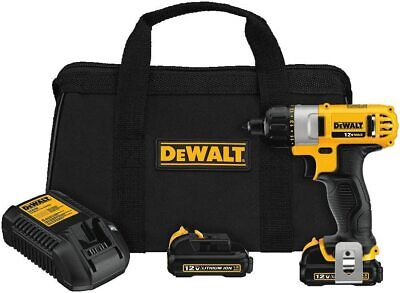 Dewalt Dcf610s2 12v Max 14 6.35 Mm Screwdriver Kit