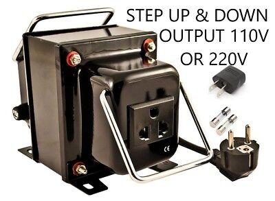 Simran THG-500 Step Up Down Voltage Transformer Converter 110V 220V/240V 500W