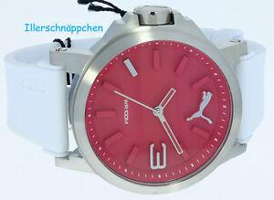 Puma Time Herren Armbanduhr Ultrasize Damenuhr Quarz Kautschukband PU103462003