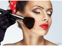 Cosmetic make-up artist available day, evening and special occasion