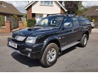 Low Miles 2005 Mitsubishi L200 Trojan, Facelift Model, Same Spec As Warrior, P/X & Finance Welcome