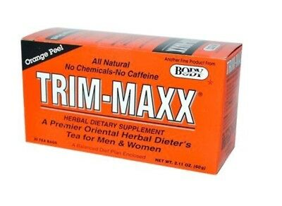 Body Breakthrough Trim Maxx Orange Flavor Trim-maxx Herbal Dieters Tea 30Teabags (Maxx Trim)
