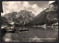 Cartolina Bolzano Lago Di Braies-croda Del Becco -  - ebay.it