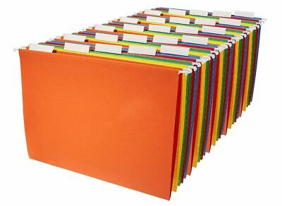 Amazonbasics Hanging File Folders Letter Size Charts Records Document 25 Pack