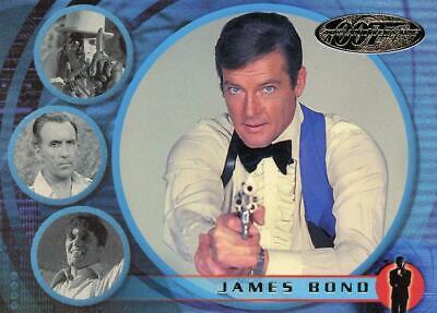 James Bond 007 40th Anniversary promo card number P2
