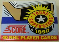 Série Cartes Hockey Score 1990 Young Superstars