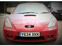 TOYOTA CELICA 1.8 VVT-I 3d 140 BHP + CALL ON 01908888466 / 07517498933 (red) 2001