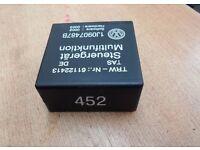 VW GOLF MK4 BORA MULTIFUNCTION STEERING CONTROLS 452 RELAY 1J0907487B