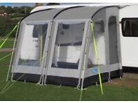 Kampa Rally Pro 260 Awning. USED FOR 2 NIGHTS ONLY!