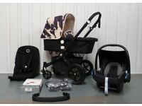 LIMITED EDITION ANDY WARHOL CARS Bugaboo Cameleon 3rd Generation! FULL TRAVEL SYSTEM