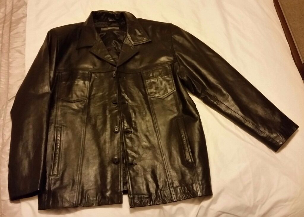 Ben Sherman mens black leather jacket newin Ipswich, SuffolkGumtree - Ben Sherman mens black leather jacket new This is real genuine leather and is brand new/never worn. The size is XL Cash and collection only please
