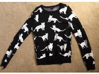 Topshop cat top
