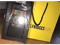 Authentic Moschino iPhone 7 plus case