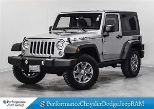 2016 Jeep Wrangler Rubicon * Leather * Nav * Dual Tops