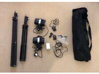 Ports flash studio lights kit