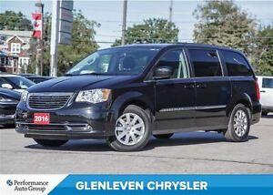 2016 Chrysler Town & Country Touring, Dual DVD, Bluetooth, Power