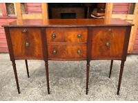 Mahogany Sideboard Antique Regency Style Quality - Delivery Available