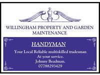 Handyman .. Available now.