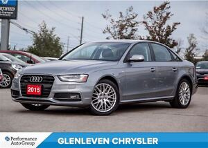 2015 Audi A4 2.0T Komfort, Sunroof, Heated Seats, Bluetooth