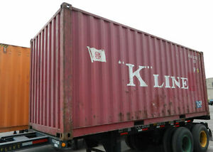 20 Steel Cargo Shipping Storage Container New Jersey NJ New York NY Containers