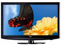 """LG 32"""" Widescreen LCD HD TV With Remote & Built-In Freeview"""