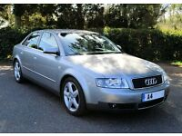 AUDI A4 2.4 SPORT GUNMETAL GREY SALOON 2003 / 83K / FOR SALE