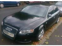 Audi A4 S-Line 1.9 TDI 2005 B7 Rare Model - (Cat C ) Repairs or Parts