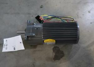 BALDOR 0.9//0.11 Hp Industrial Electric Motor With 5: 1 Gear Reducer
