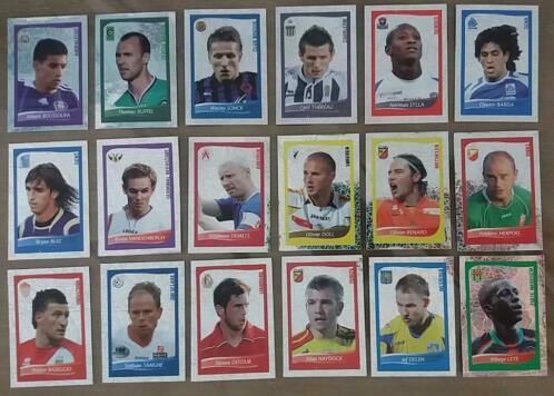 Panini Football 2009 : 18 stickers Score Lu