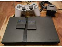 Slim Play Station 2 with 28 Games