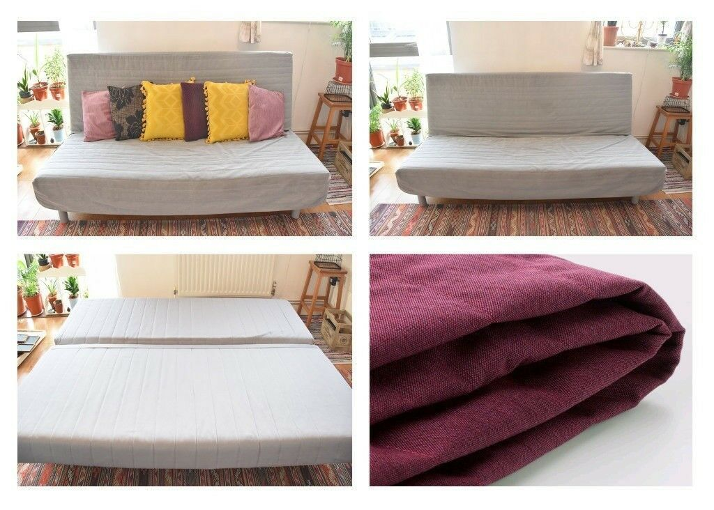 Ikea Beddinge 3 Seater Sofa Bed 2 Covers Instructions Fantastic Condition E2 Bethnal Green
