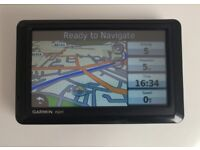 """5"""" GARMIN nuvi 1490T GPS Sat Nav with Bluetooth Calling - West Europe Map Turkey (no offers, please)"""