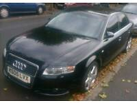 Audi A4 S-Line 1.9 TDI 05 B7 Rare Model (Cat C) Repair Scrap VW BMW Merc Seat Alloy Parts