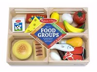 Brand new Melissa and Doug food groups toy
