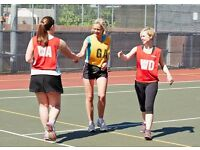 Social netball leagues in Clapham and Balham