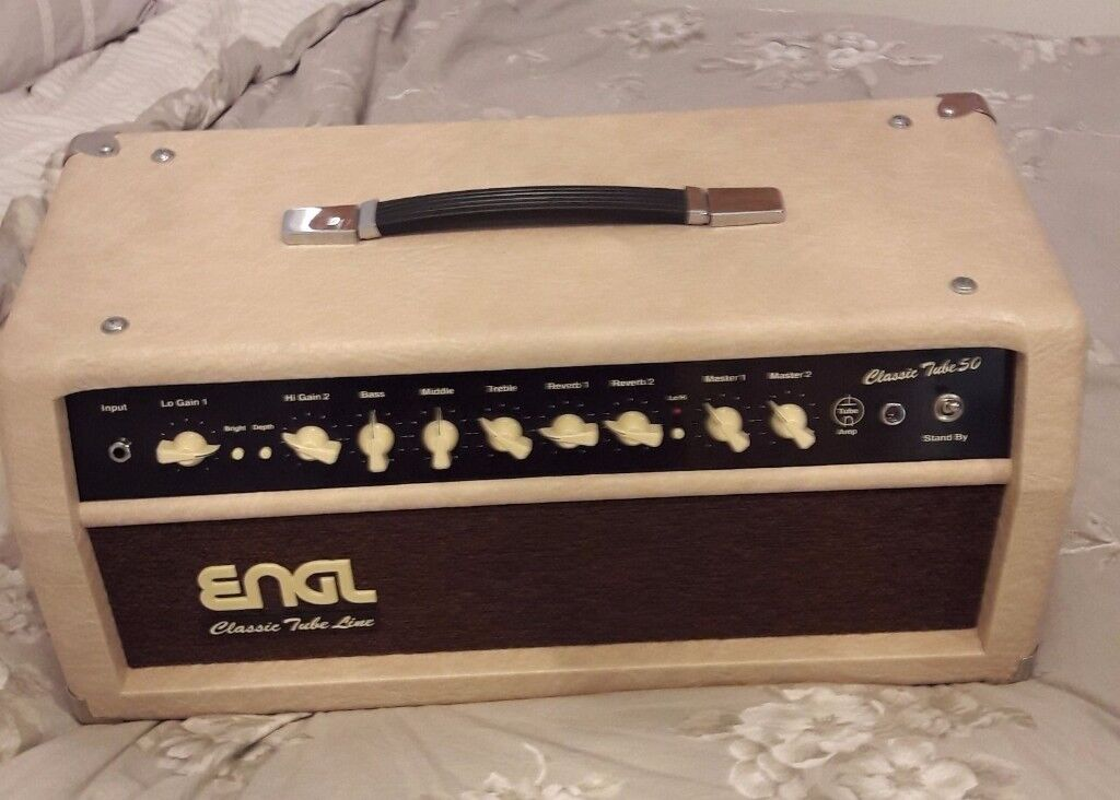 ENGL CLASSIC TUBE 50 AMPLIFIER HEAD AS NEW