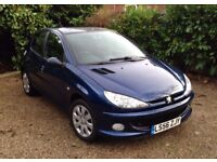 Peugeot 206 Look Tiptronic Automatic 5 door with Full MOT and no advisories.Excellent condition