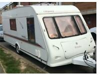 Elddis odyssey 524 single axle 4 birth caravan for sale