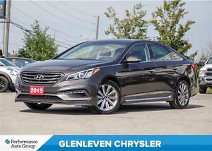2015 Hyundai Sonata Sport, Push Button start, Sunroof, BLIND SPO